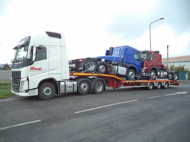 Maxi Haulage Volvo and Low Loader